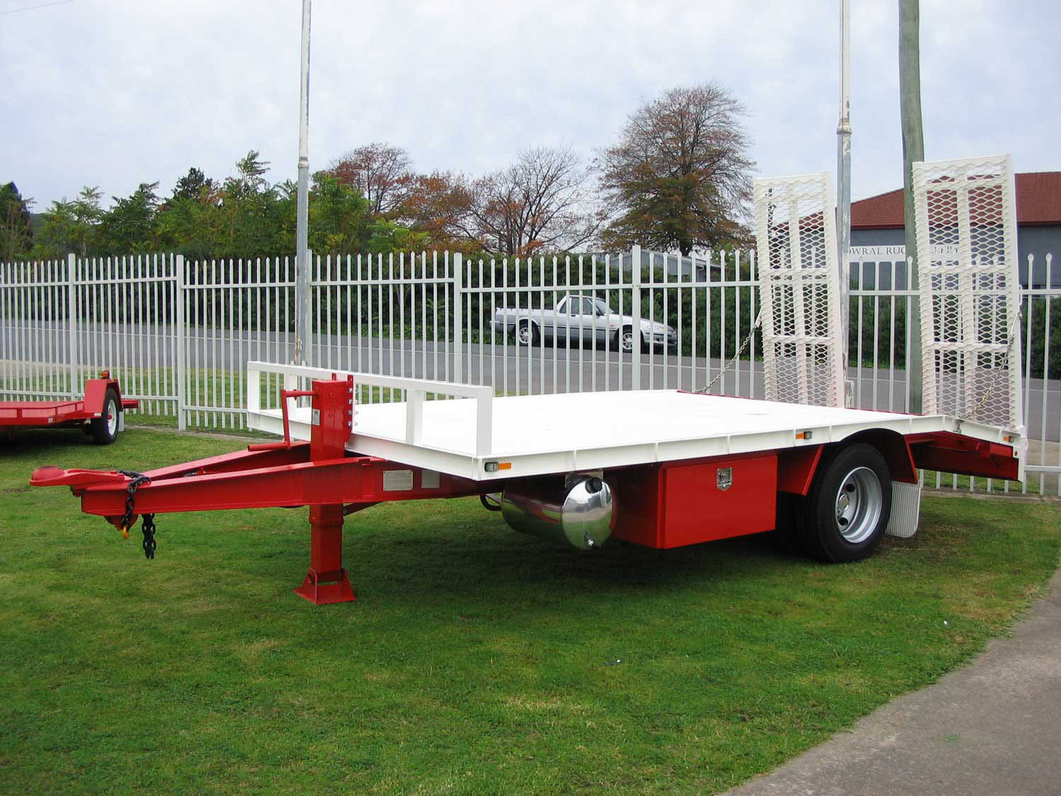 Mini Single Axle Tag Trailer