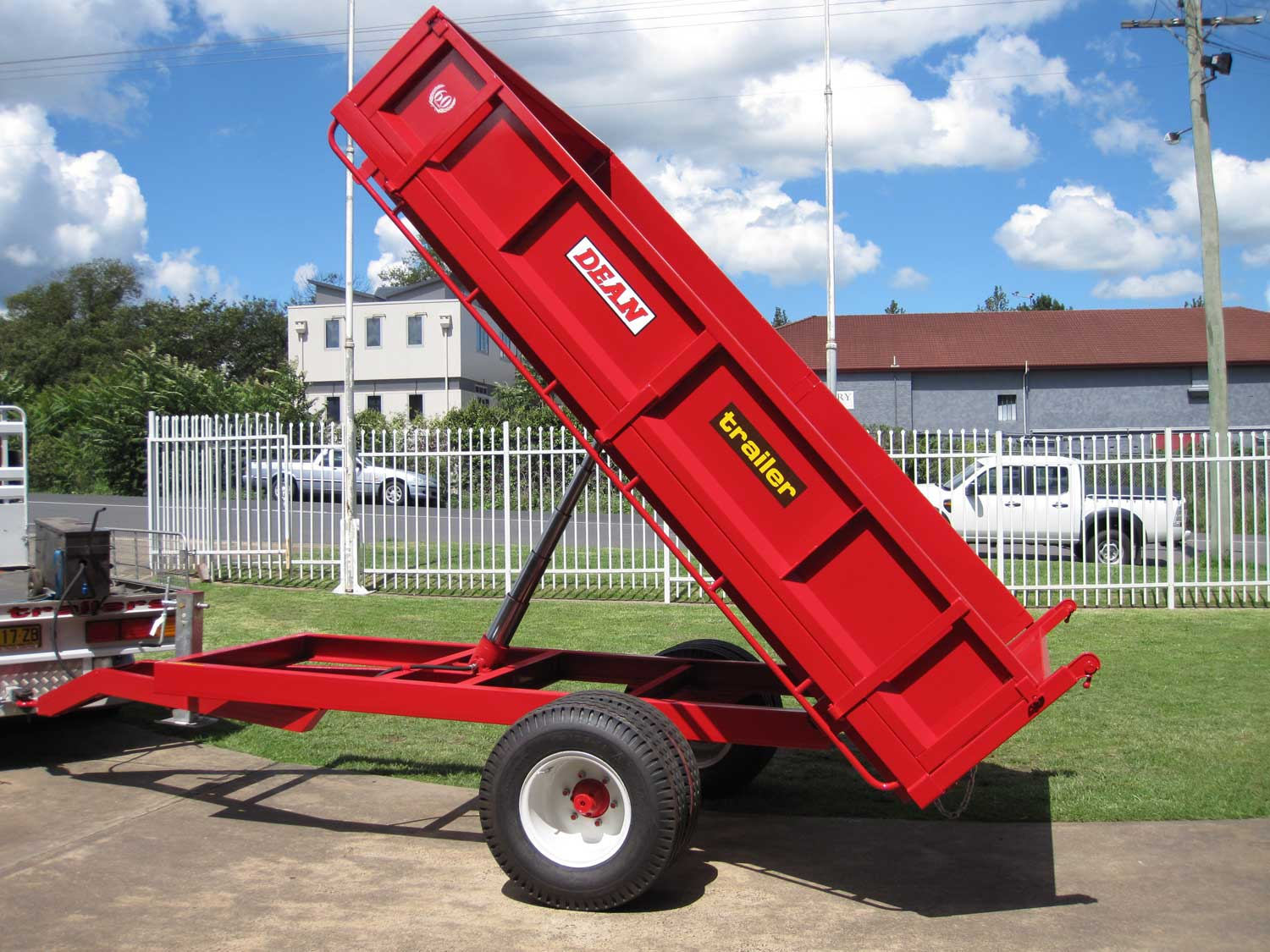 No.01 Jumbo 6 Tonne Capacity Farm Tipper
