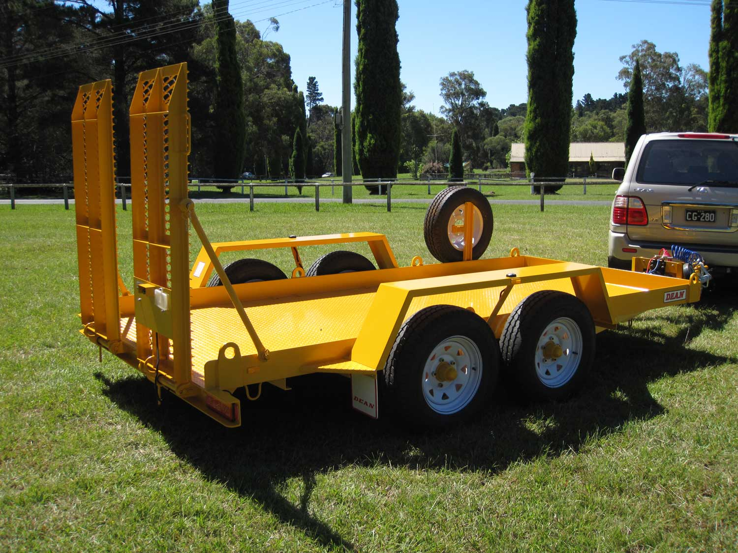 No. 16 Tandem Axle Plant Transport Trailer