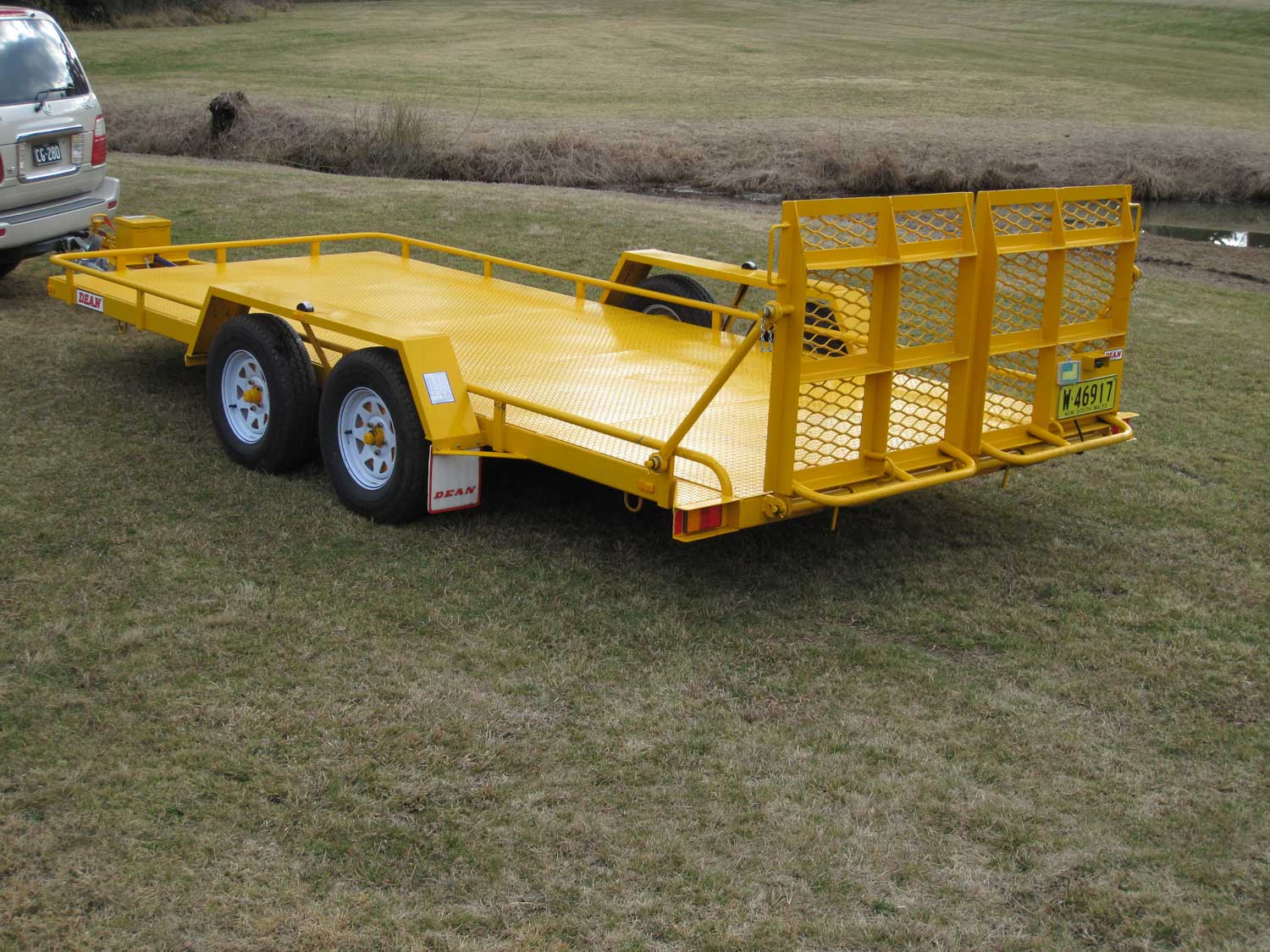 No.18 Tandem Axle Tilt Bed Plant Transport Trailer