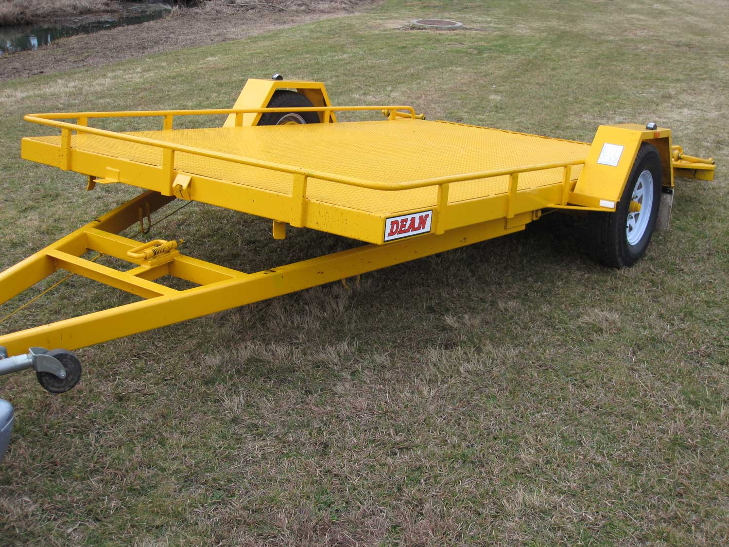 No. 18 Tandem Axle Tilt Bed Plant Transport Trailer
