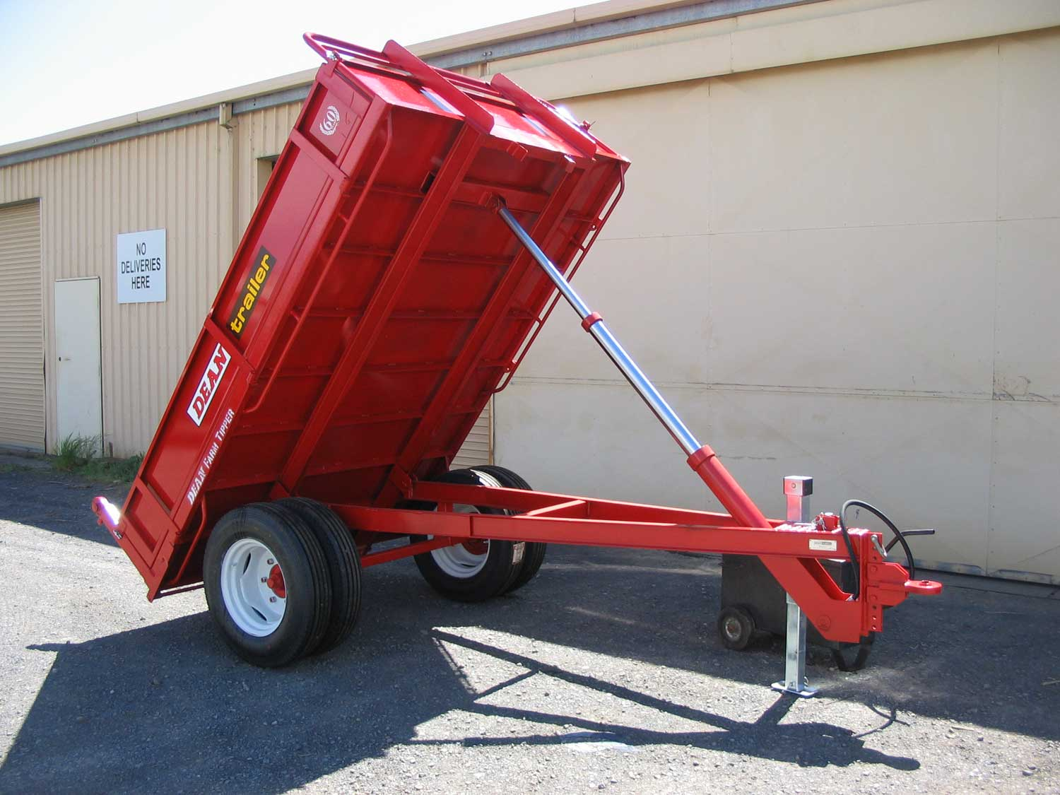 No.02 Mark II Hydraulic 3-Tonne Capacity Dual Wheel Farm Tipper