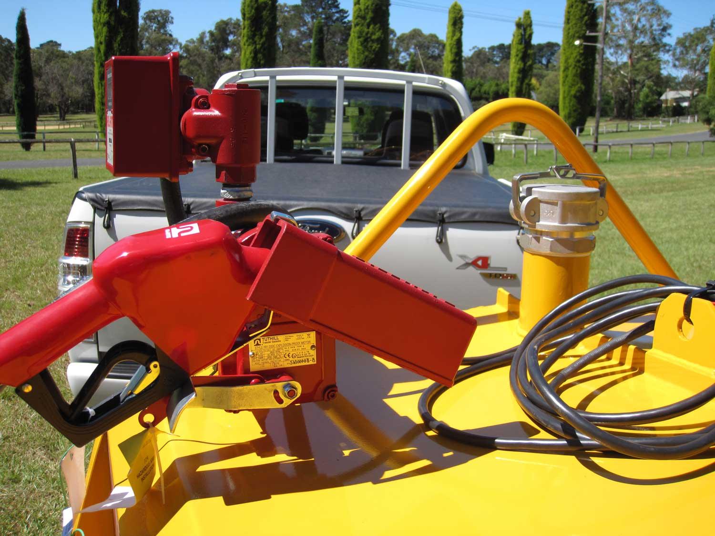 No.22 Single Axle Diesel Fuel Tanker Trailer
