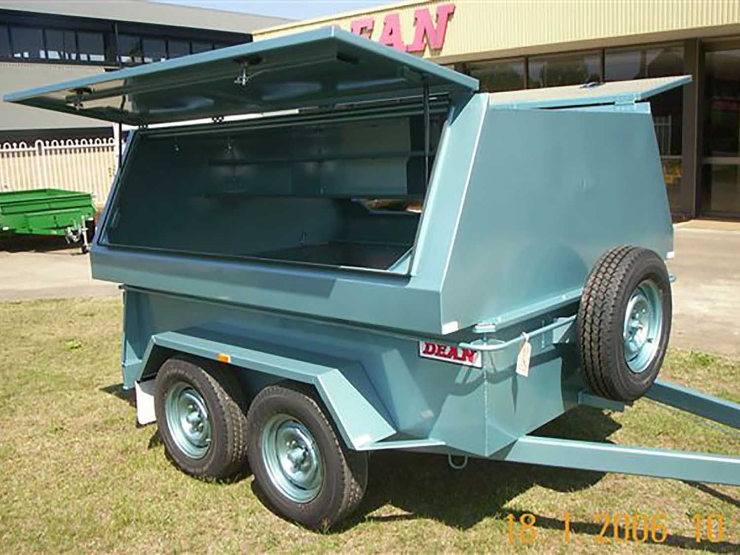 No.28W Hi-Top Wide Body Tradesman Trailer