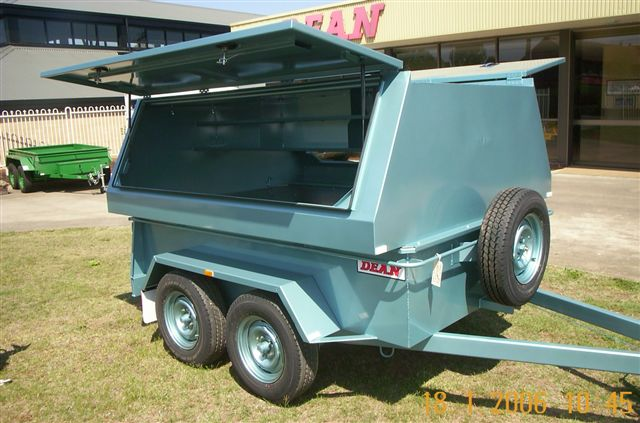No. 28W Hi-top Wide Body Tradesman Trailer