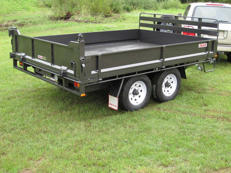 No.37 Tandem Axle Hydraulic Tipping Utility Trailer