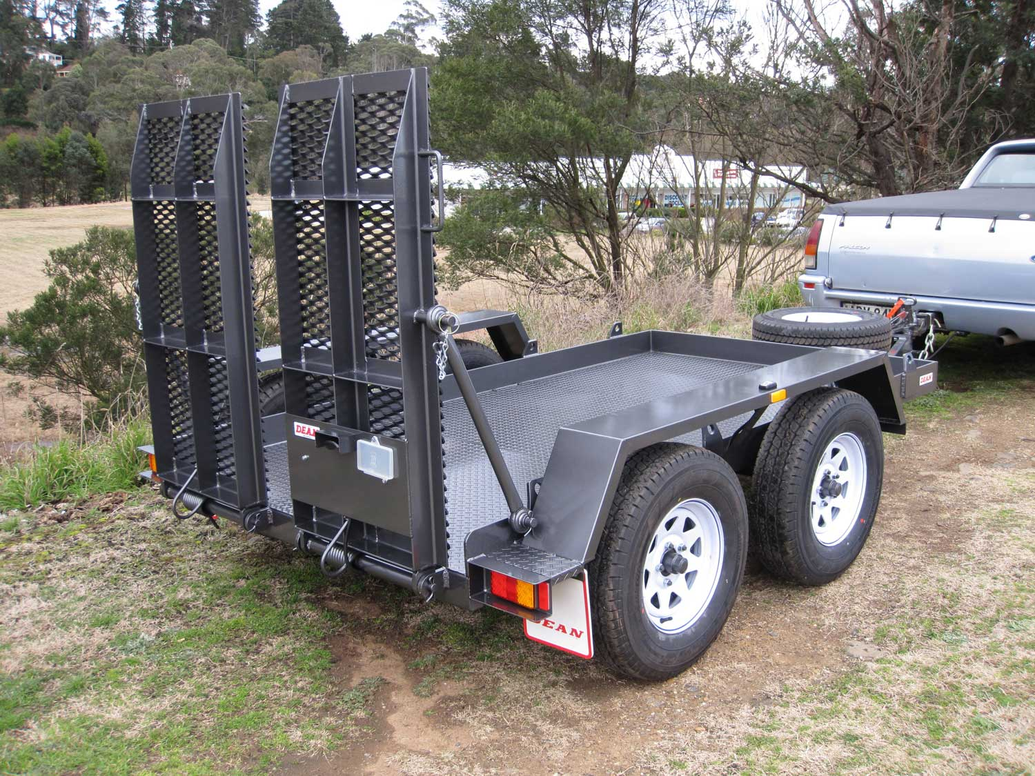 No.46 Tandem Axle, Plant Trailer, 1.5t capacity