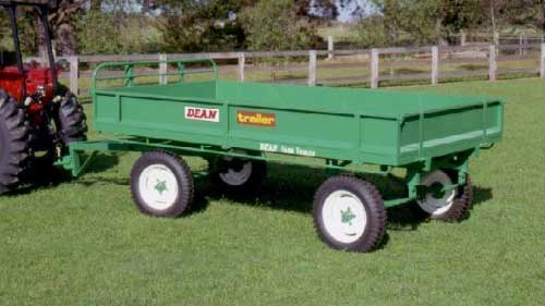 No.06 Four-Wheel 3-Tonne Capacity Farm Trailer