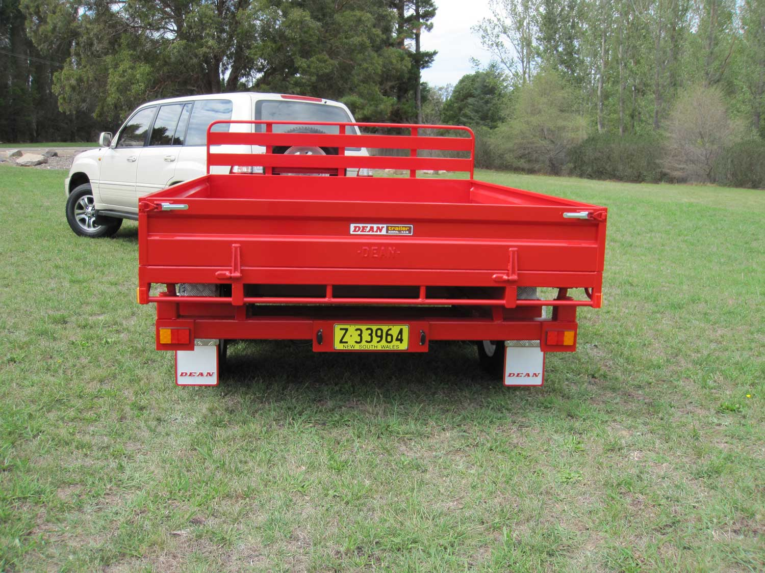 No.07 Tandem Axle Hydraulic 3Way Tipping Utility Trailer