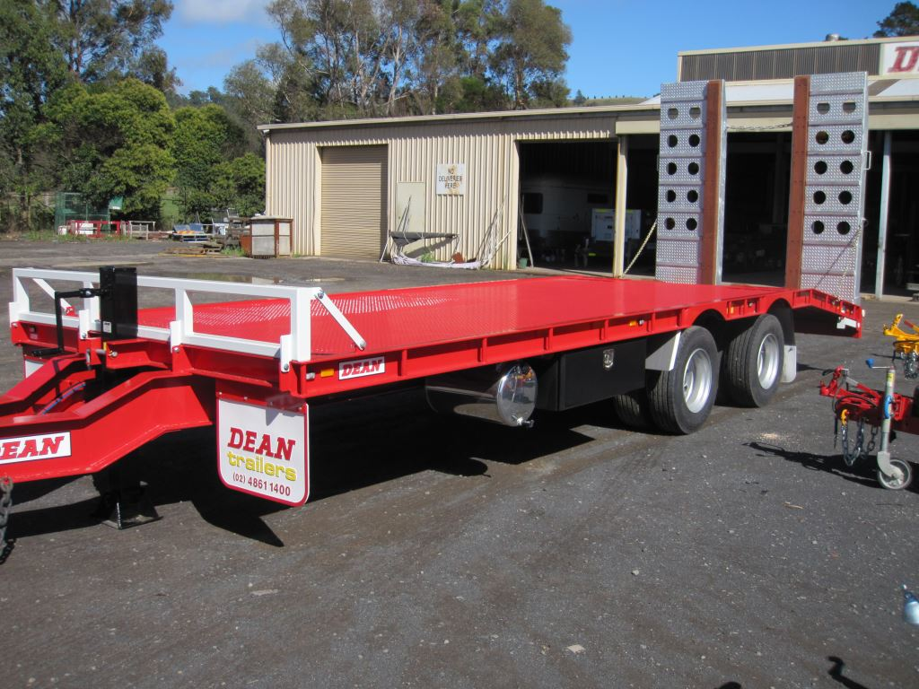 Tandem Axle Tag-Along Trailer
